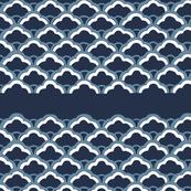 Navy fan pattern