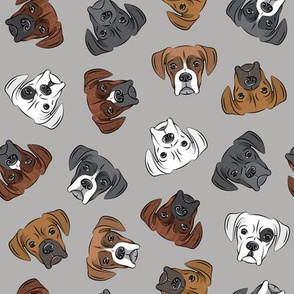 all the boxers - grey