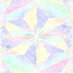 pastel space star