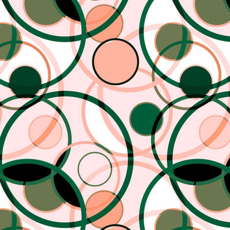 Circular Ramblings 2 fabric by jadegordon on Spoonflower - custom fabric