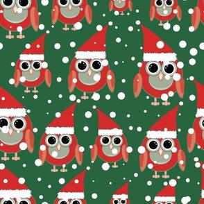 Owl Santas