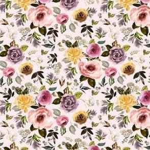 "4"" Cambridge Florals Light Blush"