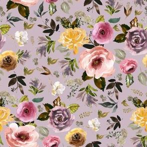 "8"" Cambridge Florals Mauve"
