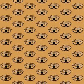 The Eyes Have It - Ocher