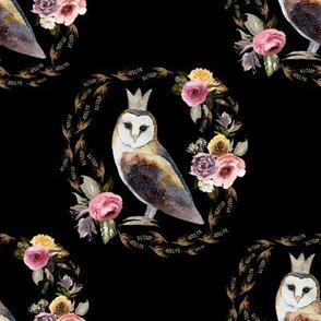 "8"" Cambridge Owl Black"