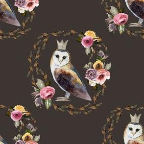 "8"" Cambridge Owl Brown"