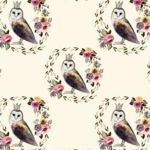 "4"" Cambridge Owl Light Tan"