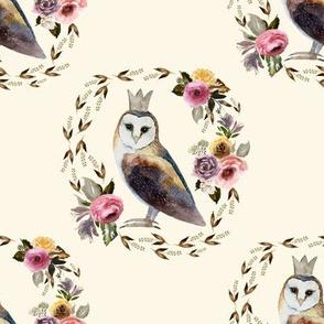 "8"" Cambridge Owl Light Tan"