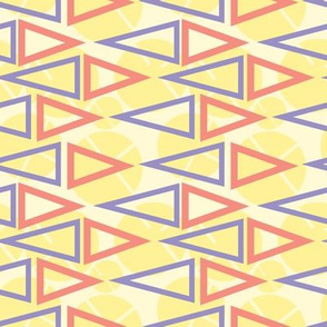 Geo Summer Triangles on Yellow