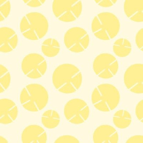 Geo Summer Yellow Circles