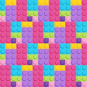 Building Bricks Pastel - Medium