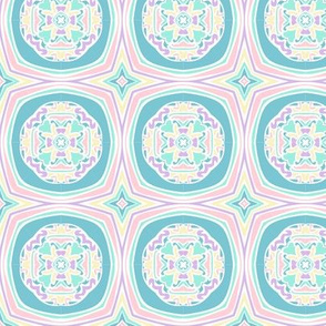 Psychedelic pastels