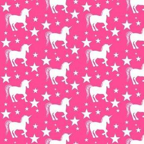 Sparkle Star Unicorn / Pink