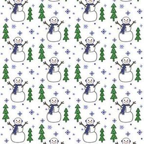 I'm a Tree ! I'm a Tree ! I'm a Tree !  Snowfall -small