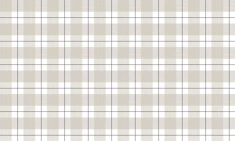 Double Buffalo Plaid in Putty and Grey fabric by danika_herrick on Spoonflower - custom fabric