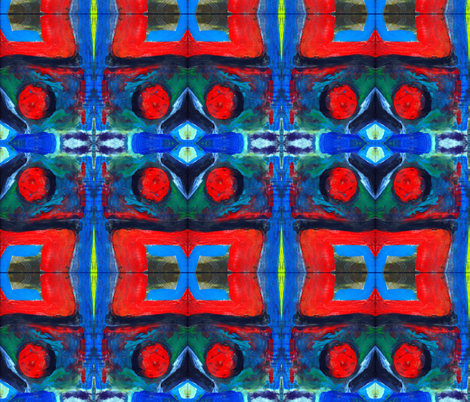 primarily 1 fabric by soggygirl on Spoonflower - custom fabric