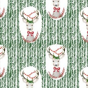 "4"" Fancy Deer Green"