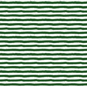 """4"""" Green Stripes Red Dots"""