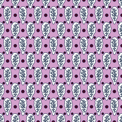 Indienne Small Pattern 1 (Limited Palette) fabric by vannina on Spoonflower - custom fabric