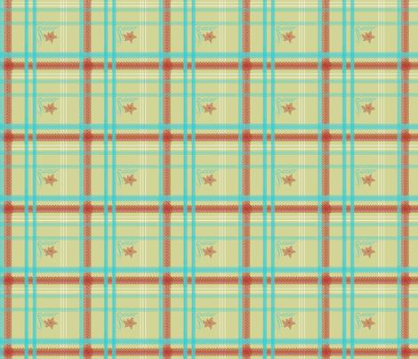 Kathryn's Plaid | Retro Festive fabric by lochnestfarm on Spoonflower - custom fabric