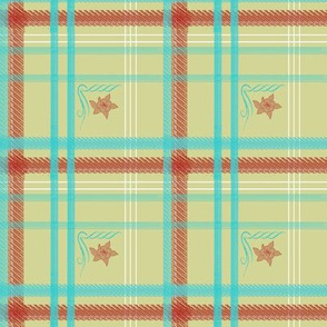 Kathryn's Plaid | Retro Festive