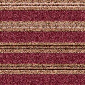 Fair Isle Textured Stripes