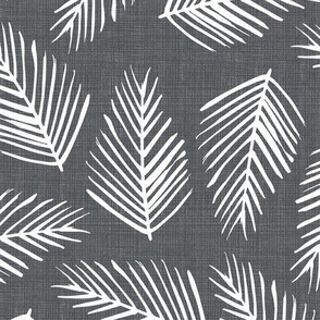 Tropical Shade - Grey Texture