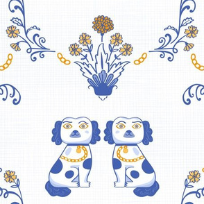 Staffordshire Pup Indigo