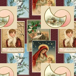 Victorian Postcards for Christmas