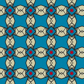 Fly Agaric fungus / Red dot geometric