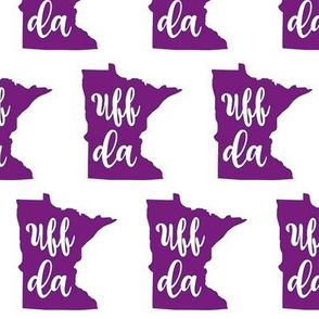 Purple Uff Da Minnesota
