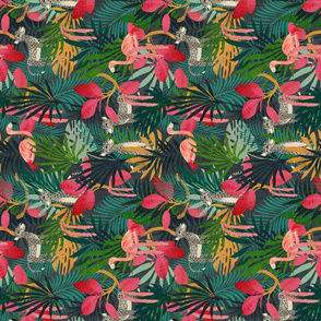 Tropical lush Jungle {rotated}
