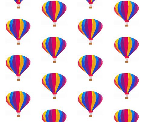 Hot Air Balloon Ride fabric by kohatupatterns on Spoonflower - custom fabric