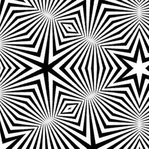 Starburst Op-Art