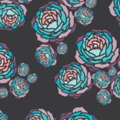 Roses Dark grey