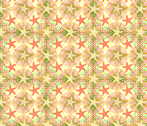 holiday stars fabric by variable on Spoonflower - custom fabric