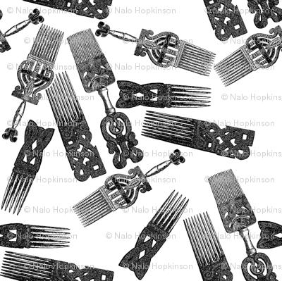 Vintage Afro picks