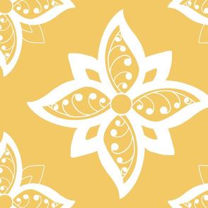 spoonflower fatquarter tarot flower sand