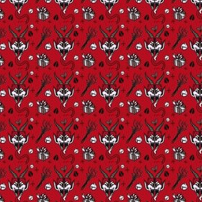 Tiny Krampus In Monotone