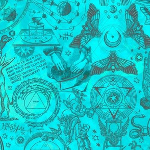 Mystic Occult Teal