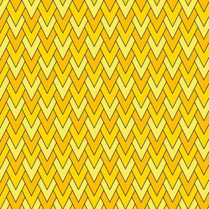 Diamond Scales Yellow 1:1