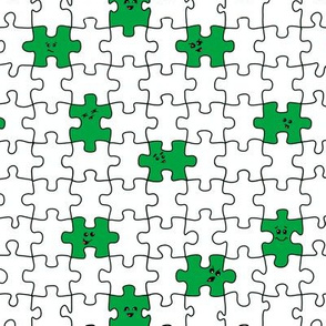puzzled | green