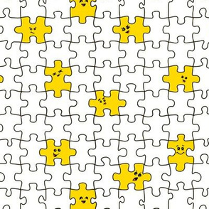 puzzled | yellow