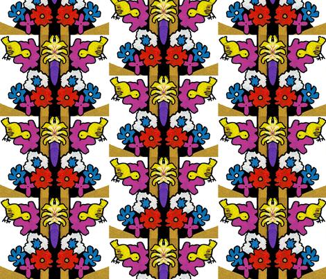 Bird's-eye View fabric by valerie_dortona on Spoonflower - custom fabric