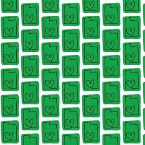 utah love | green