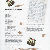 Irish christmas pudding