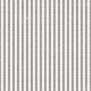 AEGEAN DENIM WHITE TICKING STRIPE