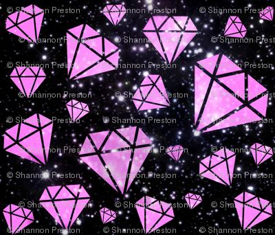 pink diamond black galaxy
