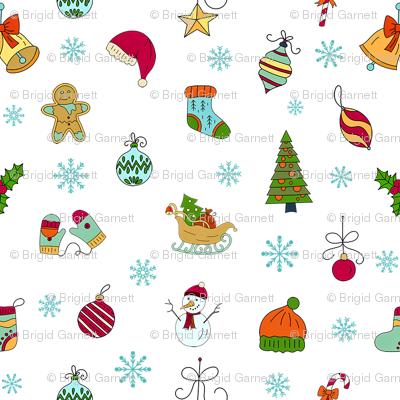 Christmas Sketches Smaller