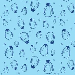 Baby King Penguins
